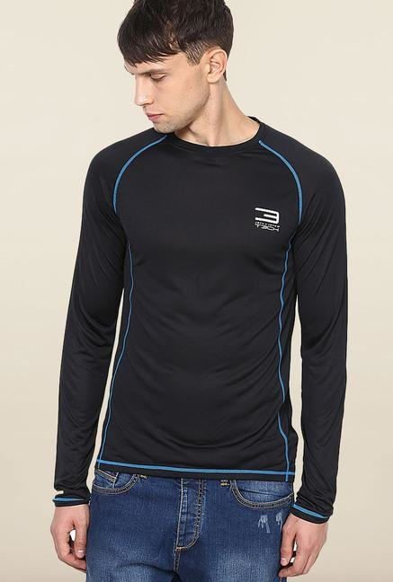 Jack & Jones Black Crew Neck T-Shirt