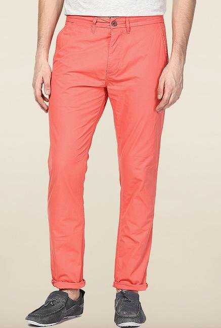 Jack & Jones Peach Cotton Chinos