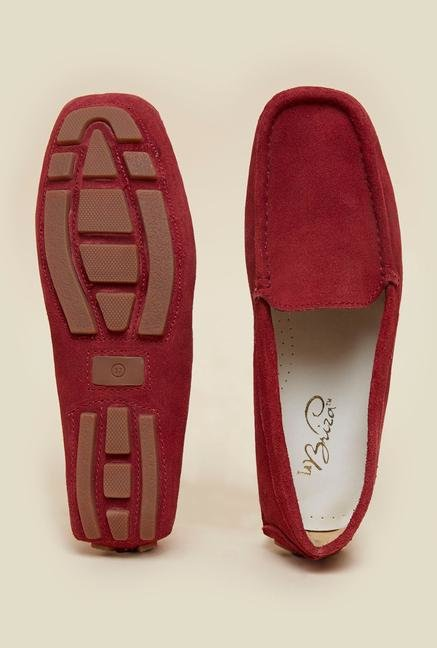 La Briza Red Loafers