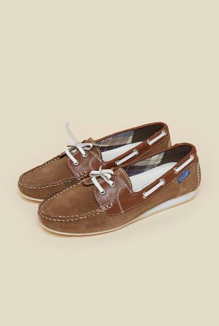 La Briza Brown Moccasins