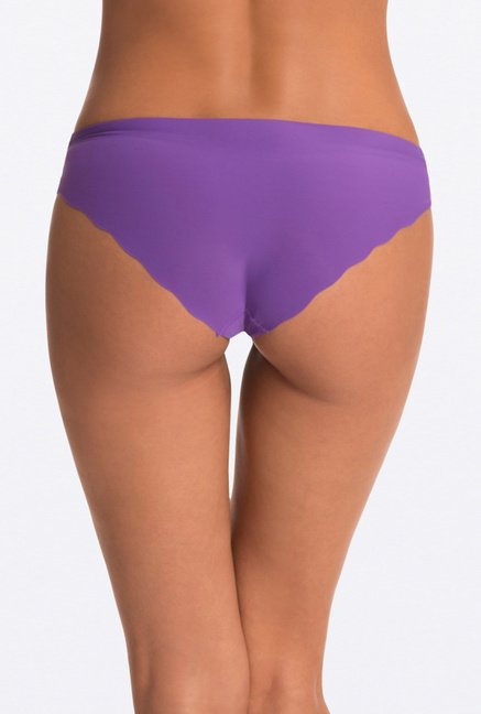 Pretty Secrets Purple Invisi-Hipster Panty