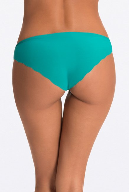 Pretty Secrets Teal Invisi-Hipster Panty