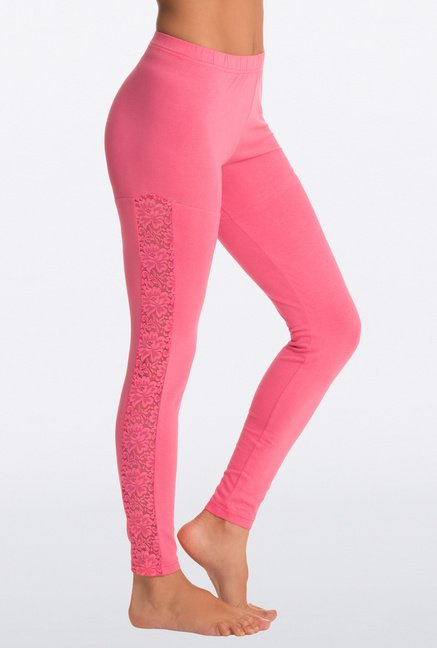 Pretty Secrets Chirpy Pink Sneak Sexy Leggings