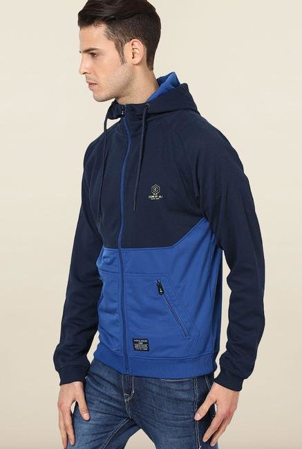 Jack & Jones Navy Blue Hoodie