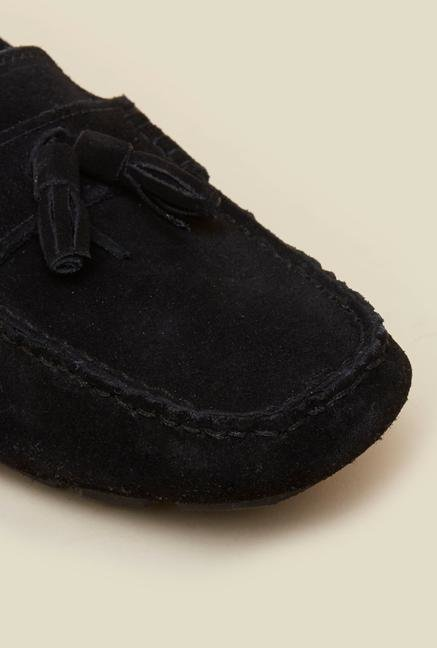 La Briza Black Loafers
