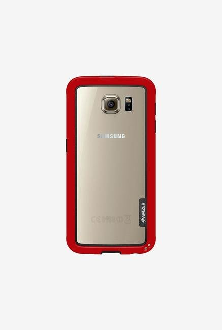 Amzer Border Case Red for Samsung S6