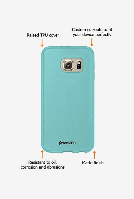 Amzer Pudding TPU Case Blue for Samsung S6