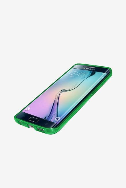 Amzer Pudding TPU Case Green for Samsung S6 edge