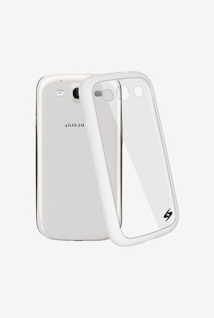 Amzer SlimGrip Hybrid Case White for Samsung S3