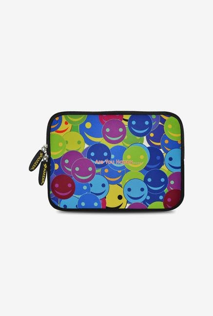 Amzer 7.75 Inch Neoprene Sleeve - Smiley Heads