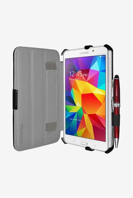 Amzer Shell Portfolio Case Black for Samsung Tab 4