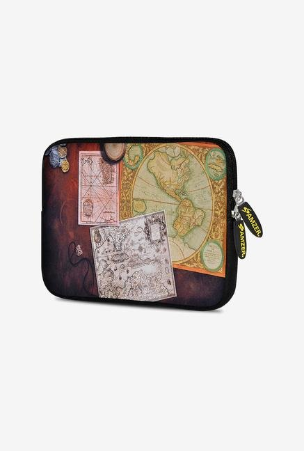 Amzer 10.5 Inch Neoprene Sleeve - Antique Map