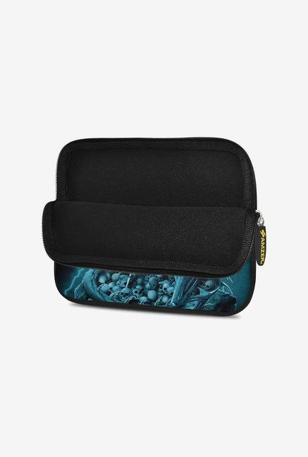Amzer 7.75 Inch Neoprene Sleeve - Teal Dragon