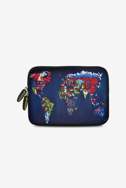 Amzer 10.5 Inch Neoprene Sleeve - Worldwide Map