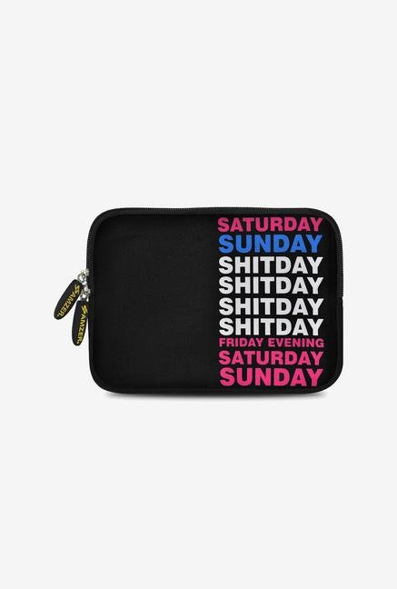 Amzer 7.75 Inch Neoprene Sleeve - Weekdays