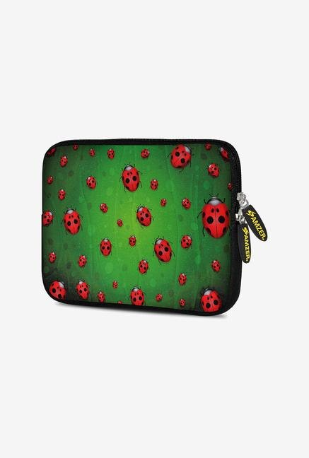 Amzer 10.5 Inch Neoprene Sleeve - Green Lady Birds