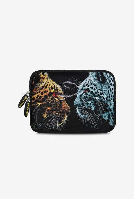Amzer 7.75 Inch Neoprene Sleeve -  Leopard Face Off