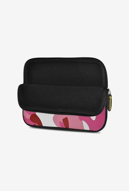 Amzer 7.75 Inch Neoprene Sleeve - Pink Army