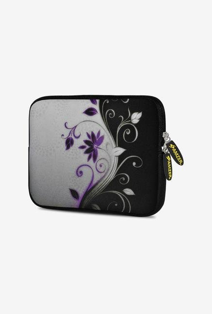 Amzer 7.75 Inch Neoprene Sleeve - Purple Lotus