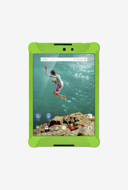 Amzer Silicone Skin Jelly Case Green for Nexus 9