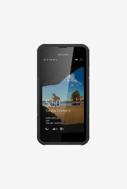 Amzer Hybrid Warrior Case Black for Lumia 550