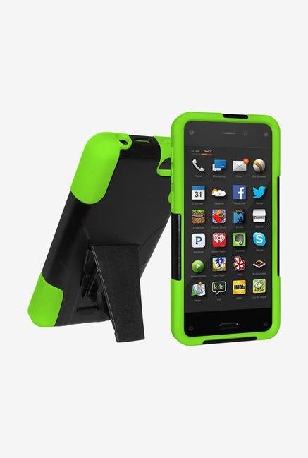 Amzer Dual Layer Case Black & Green for Amazon Fire Phone