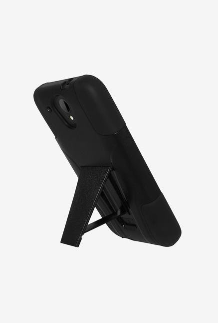 Amzer Dual Layer Hybrid Case Black for HTC Desire 520