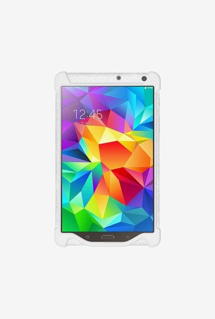 Amzer Silicone Skin Jelly Case Solid White for Samsung Tab S