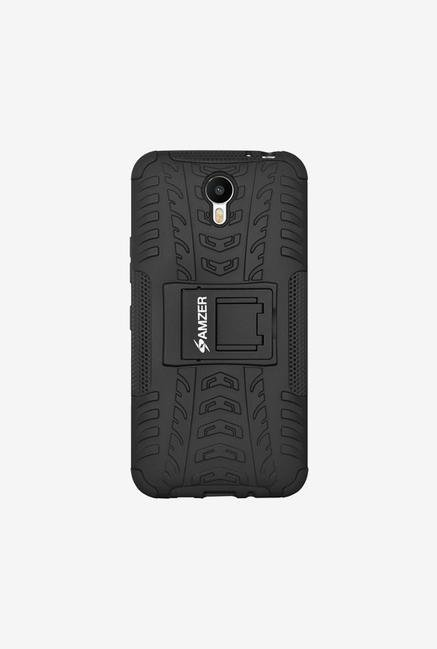 Amzer Hybrid Warrior Case Black for Meizu Metal