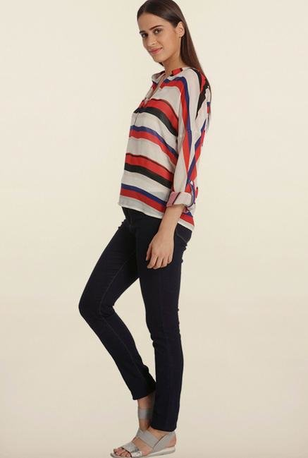 Vero Moda Multicolor Striped Top