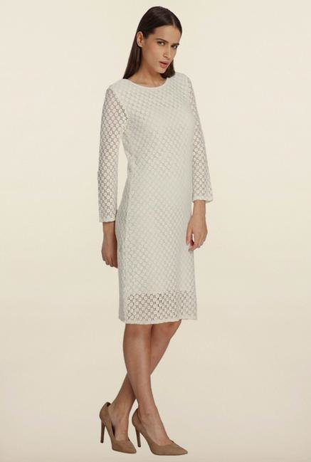 Vero Moda Snow White Lace Shift Dress