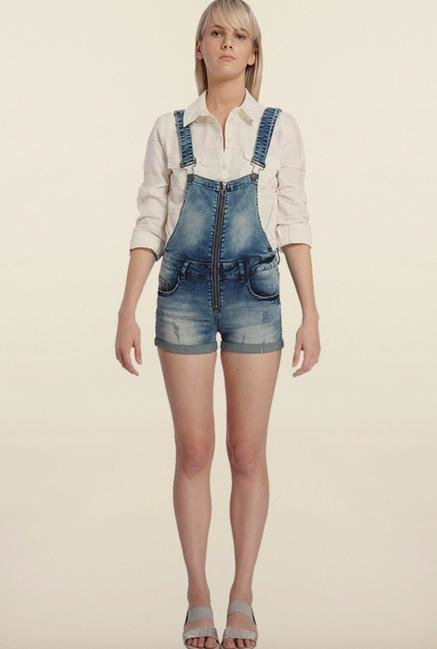 Vero Moda Blue Denim Dungaree