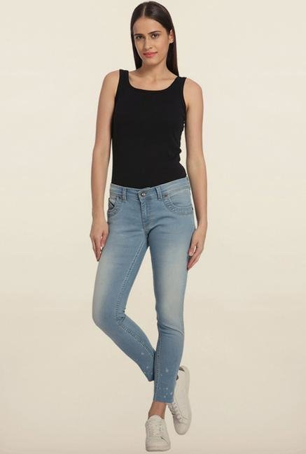 Vero Moda Light Blue Skinny Fit Jeans