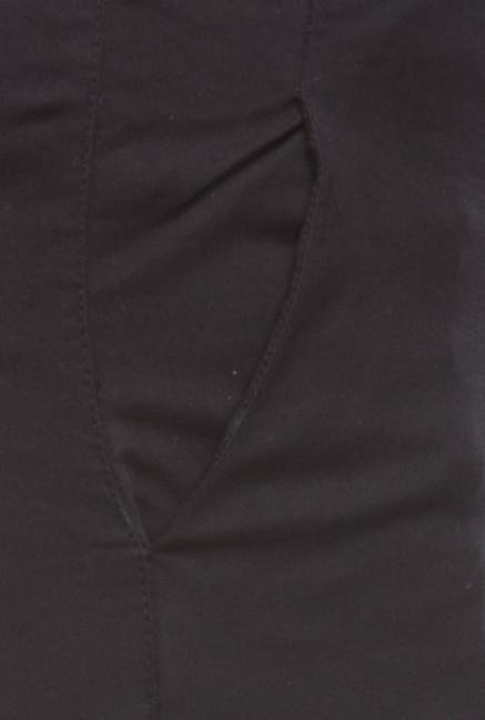 Cottonworld Black Cotton Pant