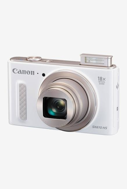Canon PowerShot SX610 HS Point & Shoot Camera White