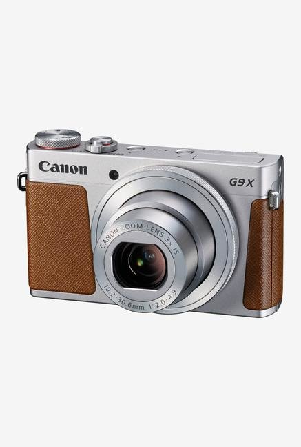Canon PowerShot G9X Point & Shoot Camera Silver