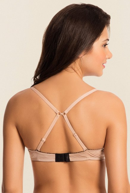Pretty Secrets Nude Under-Wired Padded Bra