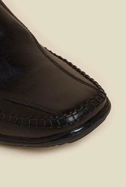 Buckaroo Tristan Black Loafers