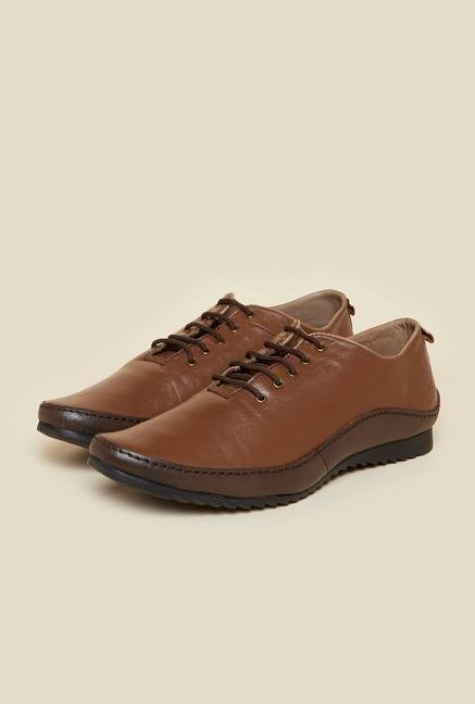 Buckaroo Robles Tan Derby Shoes