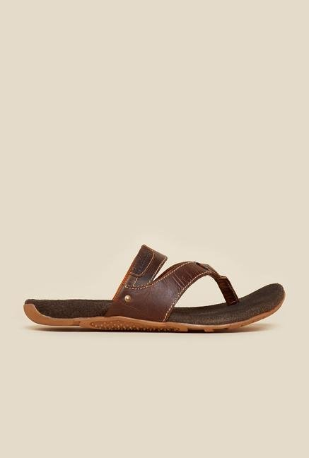 Buckaroo Greyson Brown Leather Thongs
