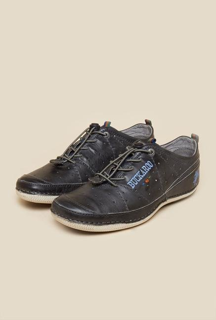 Buckaroo Feliton Blue Brogue Shoes