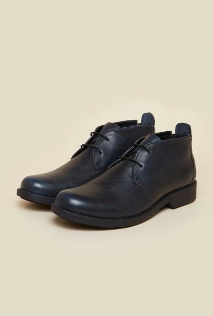 Buckaroo Portillo Black Chukka Shoes