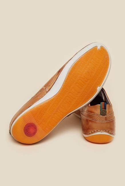 Buckaroo Feliton Tan Brogue Shoes