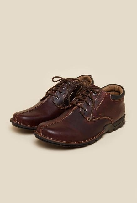 Buckaroo Carlitod Tan Derby Shoes