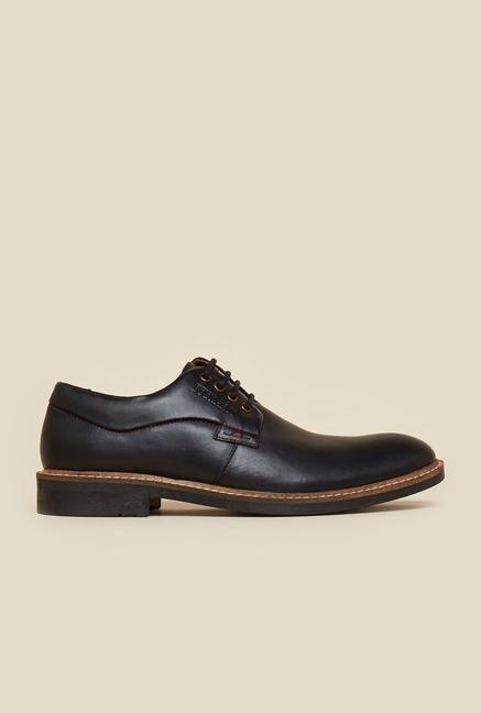 Buckaroo Frasco Black Derby Shoes