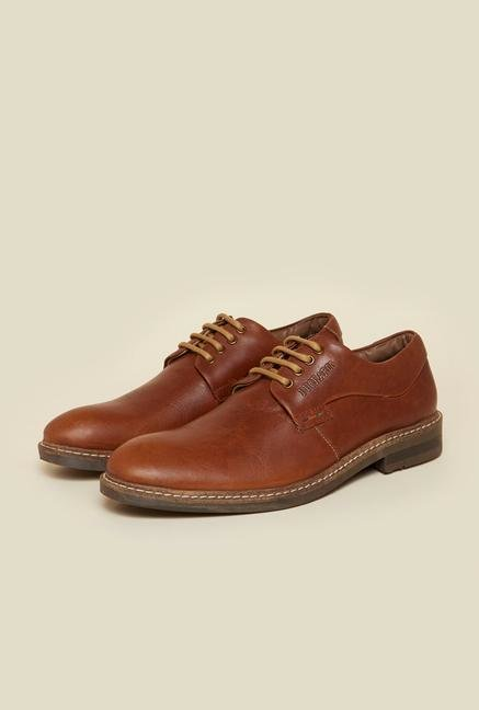 Buckaroo Frasco Brown Derby Shoes