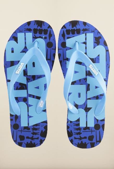 Star Wars Blue Flip Flops