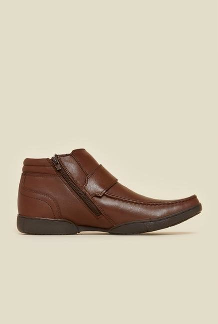 Buckaroo New Fausto Brown Monk Shoes