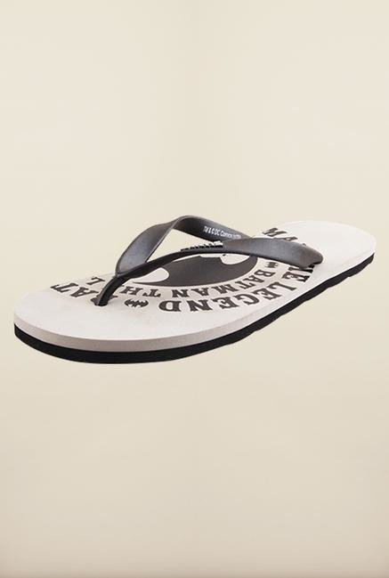 Batman Grey & Black Flip Flops