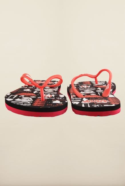 Star Wars Black & Red Flip Flops